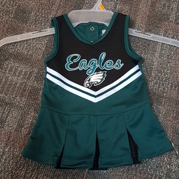Philadelphia eagles cheerleading baby dress. M 5a71ceaf6bf5a673f2a6c0bf 881966a42